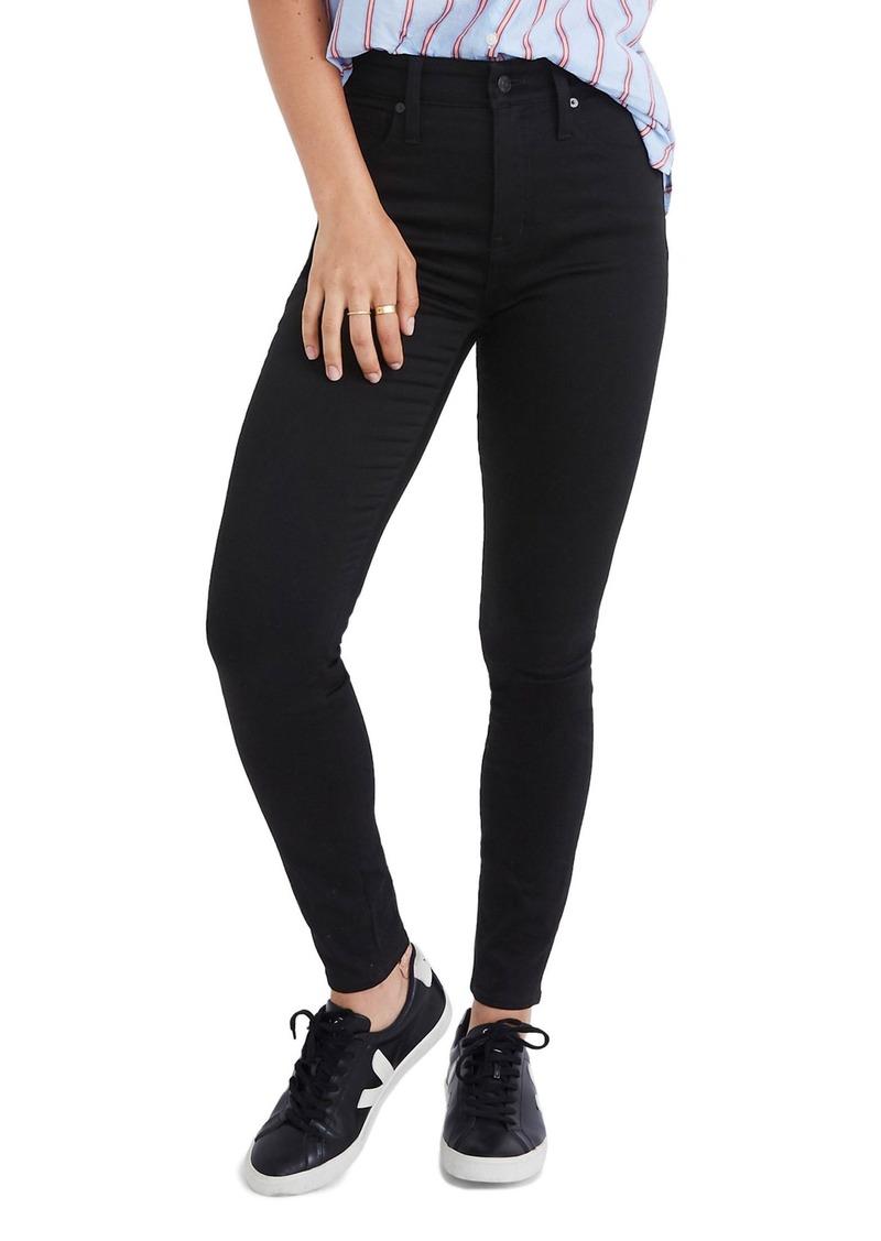 Madewell Curvy High Waist Skinny Jeans (Carbondale)
