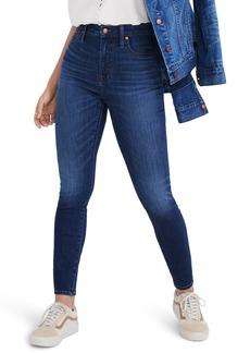 Madewell Curvy High Waist Skinny Jeans (Danny)
