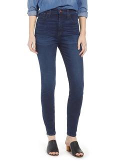 Madewell Curvy High Waist Skinny Jeans (Hayes)