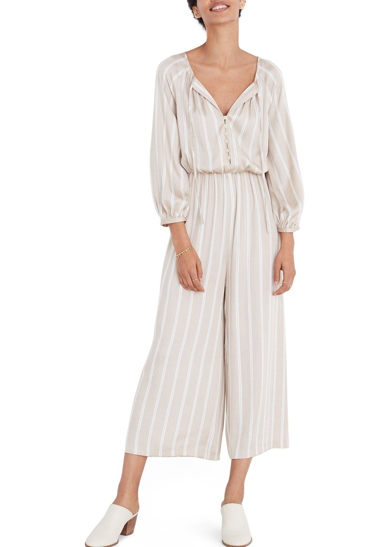 Madewell Cypress Stripe Jumpsuit