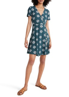 Madewell Daisy Daydream Button Wrap Dress