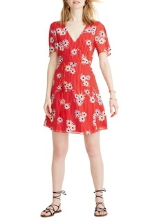 Madewell Daisy Society Button Faux Wrap Dress