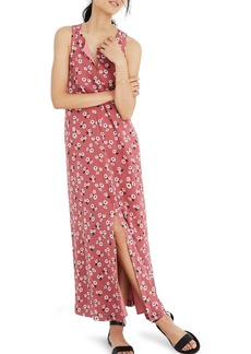 Madewell Daisy Tie Waist Maxi Dress