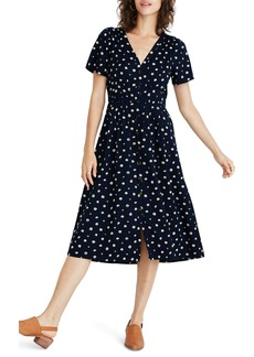 Madewell Daylily Midi Dress in Daisy Dots
