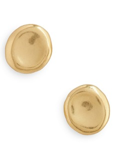 Madewell Delicate Coin Stud Earrings