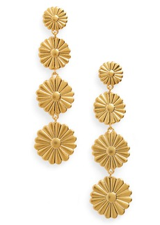 Madewell Delicate Daisy Statement Earrings