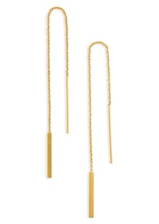Madewell Delicate Threader Earrings