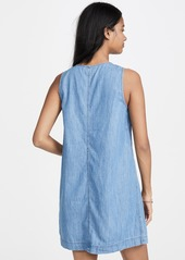 Madewell Denim Button Front Easy Dress