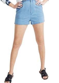 Madewell Denim Camp Shorts