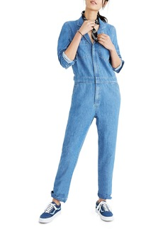 Madewell Denim Coverall Jumpsuit