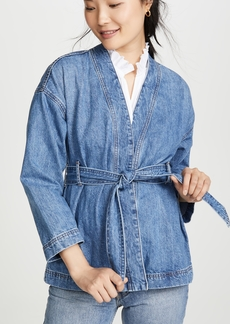 Madewell Denim Kimono Jacket with Belt