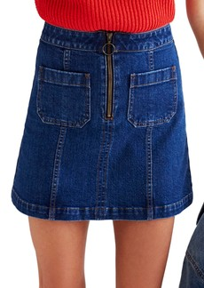 Madewell Denim Miniskirt