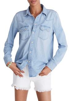 Madewell Denim Western Shirt