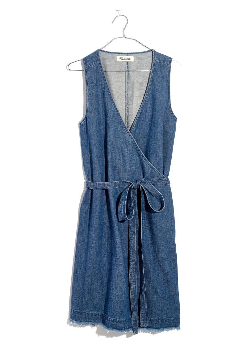 763a35a6f9 SALE! Madewell Madewell Denim Wrap Dress