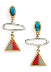 Madewell Desert Sunset Link Earrings