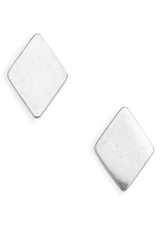 Madewell Diamond-Shaped Stud Earrings
