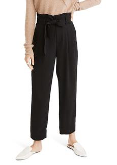 Madewell Drapey Paperbag Waist Pants