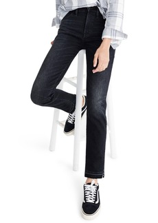 Madewell Drop Hem Slim Straight Leg Jeans (Yates)
