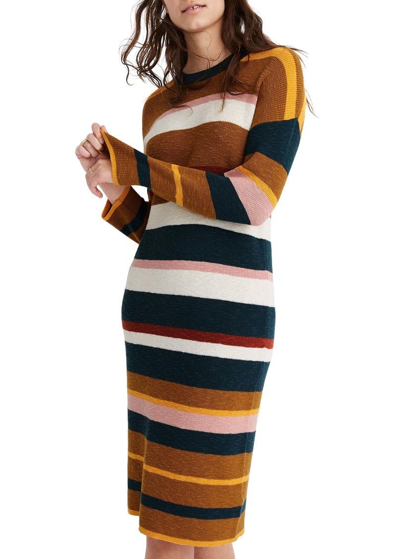 Madewell Drop Shoulder Sweater Dress