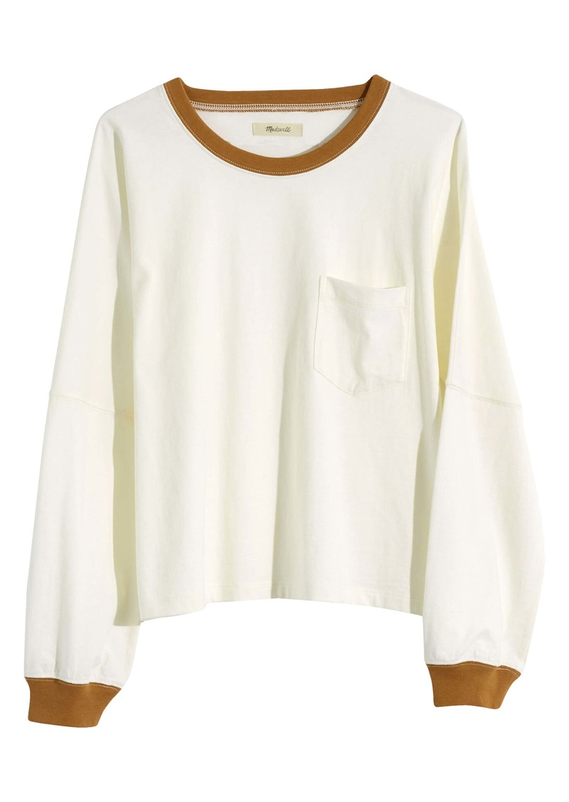 Madewell Drop Sleeve Pocket T-Shirt