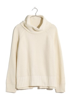 Madewell Eastbrook Turtleneck Cross Back Sweater