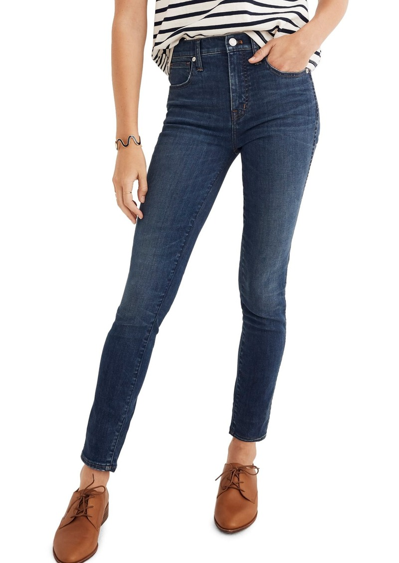 365d453f012 Madewell Madewell Eco Collection High Rise Skinny Jeans (Elinor) Now ...