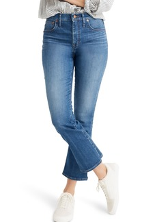 Madewell Eco Edition Cali Demi Boot Jeans (Tierney Wash)