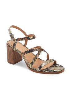 Madewell Edie Leather Sandal (Women)