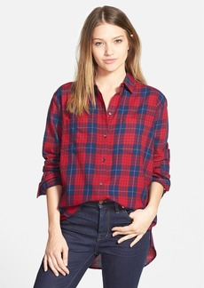 Madewell 'Edina Plaid' Oversize Boyshirt
