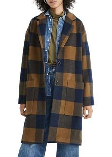 Madewell Elmcourt Buffalo Check Coat