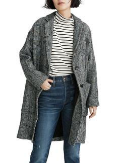 Madewell Elmcourt Herringbone Coat