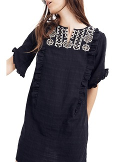 Madewell Embroidered Cassia Dress