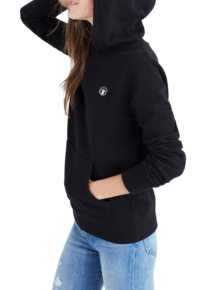 06f8ed6d0c Madewell Madewell Embroidered Eye Hoodie | Casual Shirts