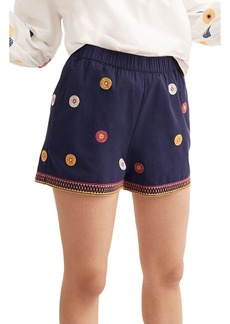 Madewell Embroidered Pull-On Shorts