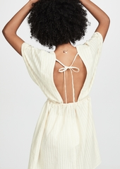 a6b629db4831d Madewell Madewell Embroidered Tie Back Cover-Up Dress | Swimwear