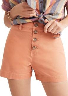 Madewell Emmett Button Front Shorts