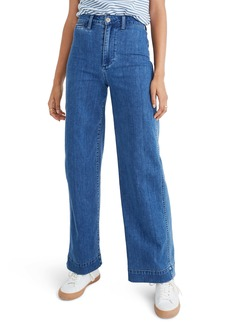 Madewell Emmett High Waist Trouser Jeans (Midland Wash)