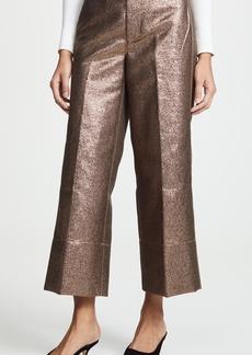 Madewell Emmett Metallic Sand Pants