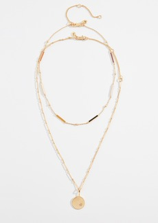 Madewell Enamel Bar Necklace