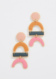 Madewell Enamel Statement Earrings