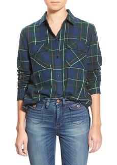 Madewell Ex Boyfriend - Ontario Plaid Flannel Shirt