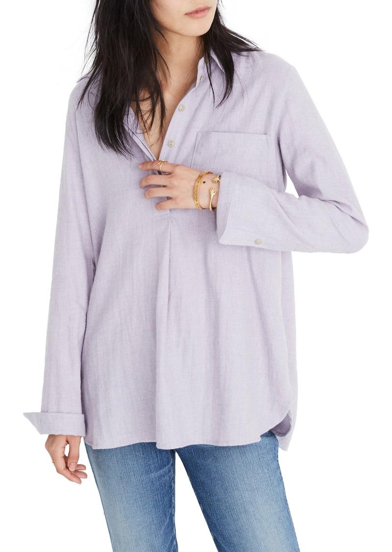 f5aa7dc3dc4 Madewell Madewell Ex-Boyfriend Button Back Flannel Shirt