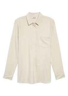 Madewell Ex-Boyfriend Button Back Flannel Shirt