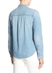 Madewell Ex Boyfriend Shrunken Denim Shirt