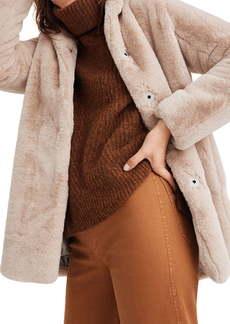 Madewell Faux Fur Coat