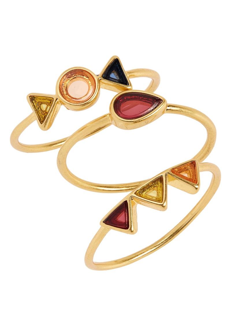 Madewell Finespun Ring Set