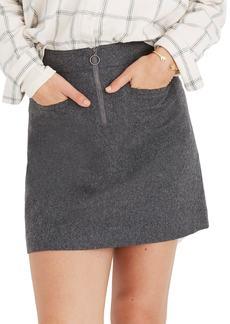 Madewell Fireside Miniskirt