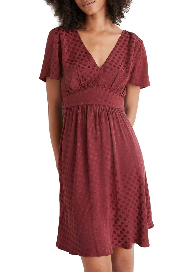 Madewell Fit & Flare Dress