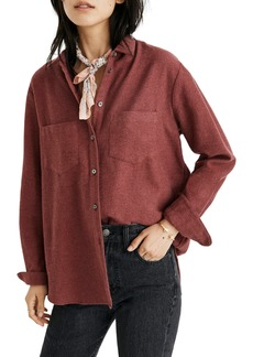 Madewell Flannel Sunday Shirt (Regular & Petite)