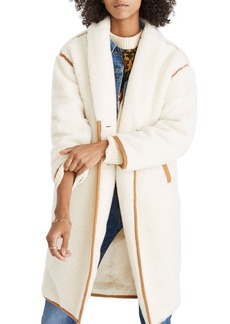 Madewell Fleece Coat